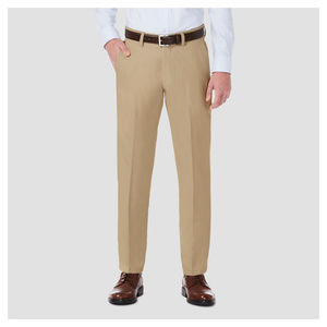 Haggar H26 Stretch Straight Fit Trouser Pants